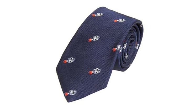 Thom Browne Rocket Ship Tie