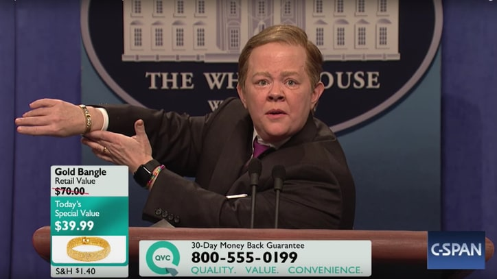See Melissa McCarthy Unleash Her Sean Spicer on 'SNL' Again