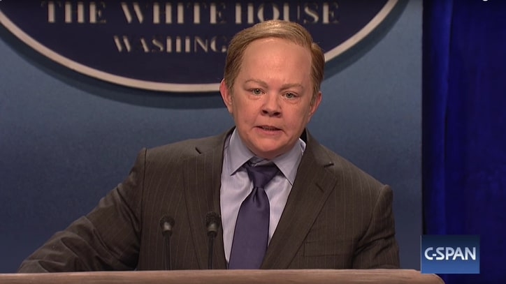 See Melissa McCarthy's Epic Takedown of Sean Spicer on 'SNL'