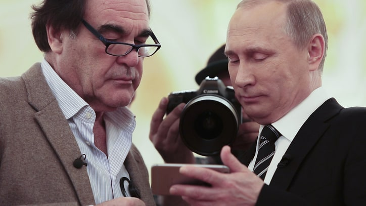 10 Most WTF Things We Learned From Oliver Stone's Putin Interviews