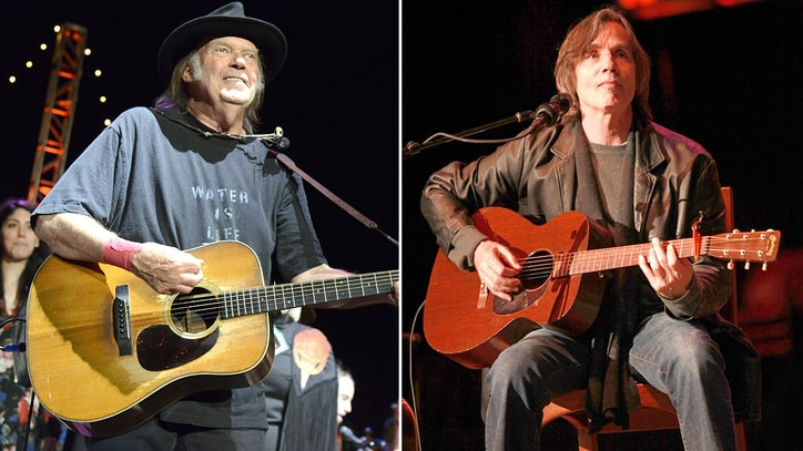 Neil Young, Jackson Browne, Rush Added to Rock Hall Lineup