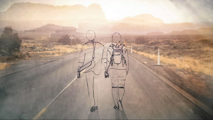 Neil Young Offers Illustrated Journey in 'Hitchhiker' Video