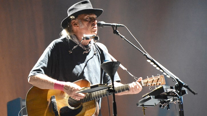 Hear Neil Young Leave Scorched Earth on 'Peace Trail'