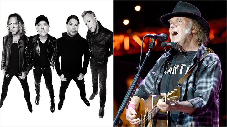 Neil Young Taps Metallica, Roger Waters for Bridge School Benefit