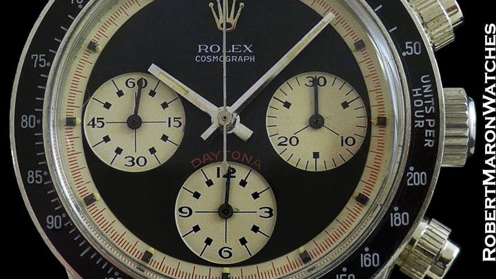 There's a 1965 Rolex Paul Newman Daytona For Sale on eBay Right Now (Yours for a Cool $325,000)