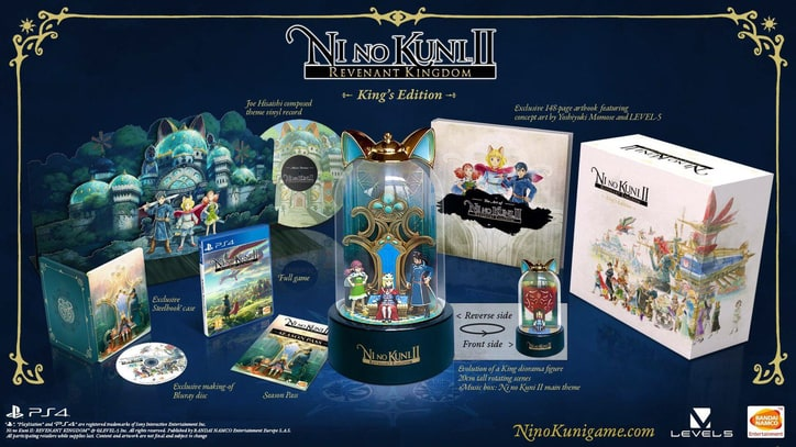 'Ni No Kuni II' Season Pass, Special Editions Detailed
