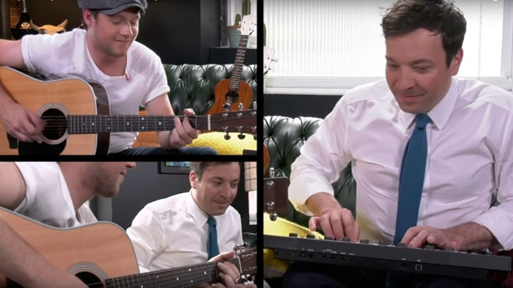 Watch Niall Horan, Jimmy Fallon Improvise Songs From Absurd Fan Titles