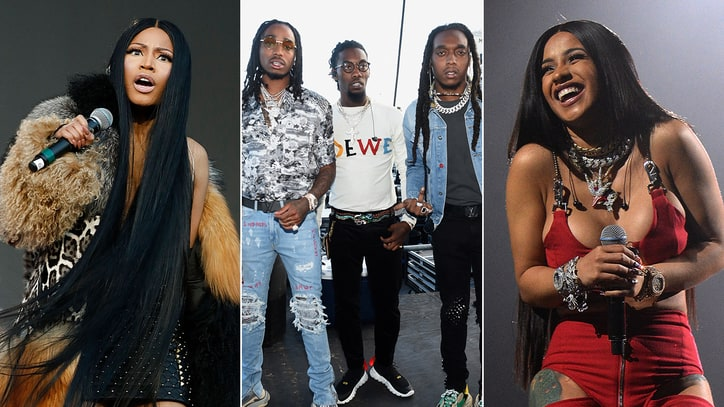 Hear Migos, Nicki Minaj, Cardi B on Raunchy New Song 'MotorSport'