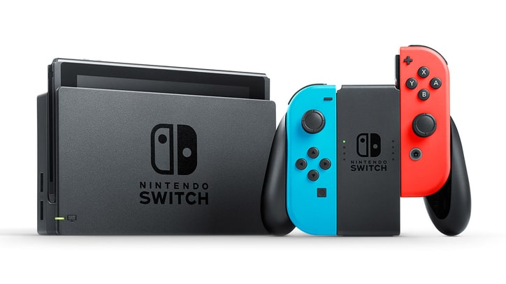 Nintendo Switch Was July 2017's Best-Selling Console