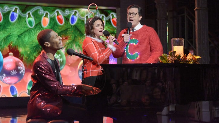 Watch Stephen Colbert, Norah Jones Debut 'Worst' New Christmas Tune