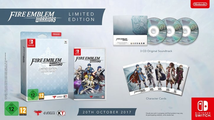 Limited Edition 'Fire Emblem Warriors' Coming to Switch