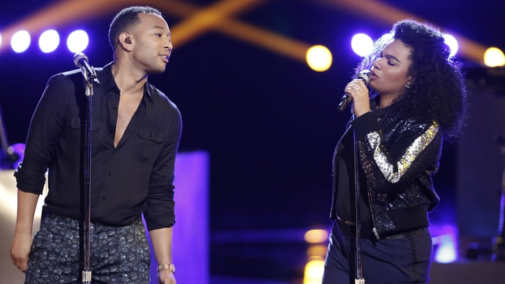 Watch John Legend's Soulful 'Love Me Now' Duet on 'The Voice'