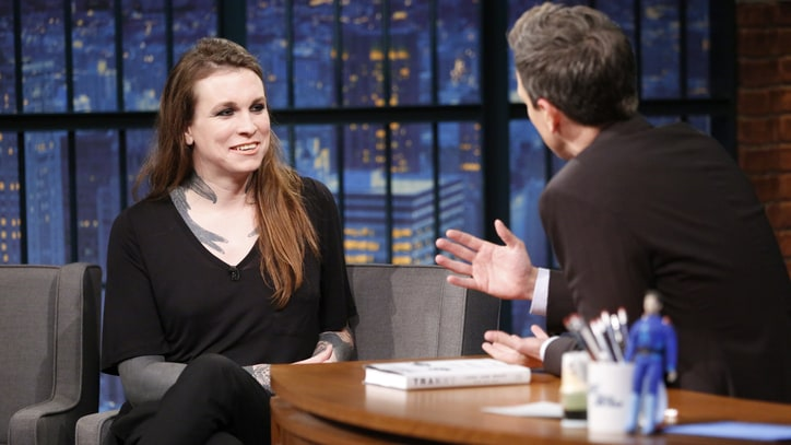 Watch Laura Jane Grace Talk Hating the Word 'Tranny' on 'Seth Meyers'