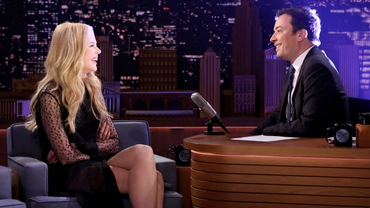 Watch Nicole Kidman Recall Second Failed Date With Jimmy Fallon