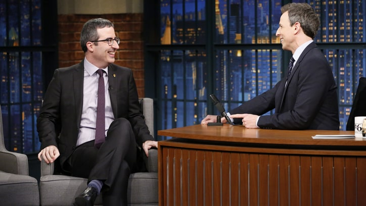 Watch John Oliver Explain Why He's Sick of Obama's Fun Vacation Photos