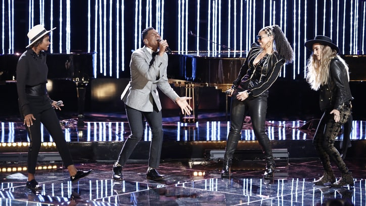 'The Voice': See Team Alicia Keys' Stunning Aretha Franklin Cover
