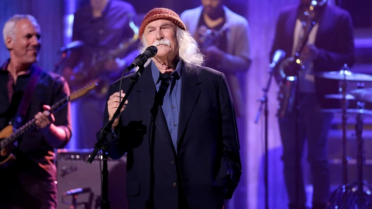 See David Crosby's Funky New Song 'She's Got to Be Somewhere' on 'Fallon'