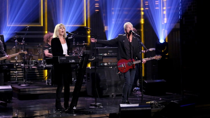 See Lindsey Buckingham, Christine McVie Play Haunting 'In My World' on 'Fallon'
