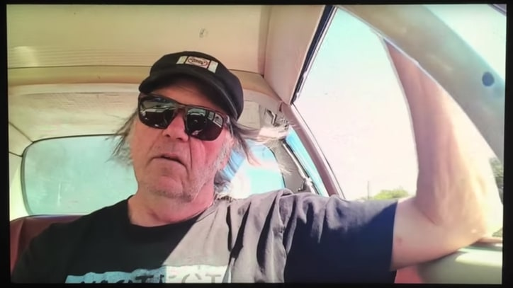 Neil Young Protests Dakota Access Pipeline With 'Indian Givers' Video