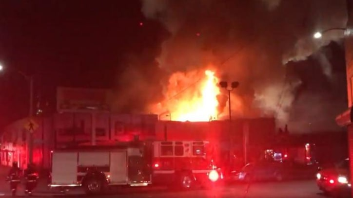 At Least 33 People Killed in Fire at Oakland Warehouse Party