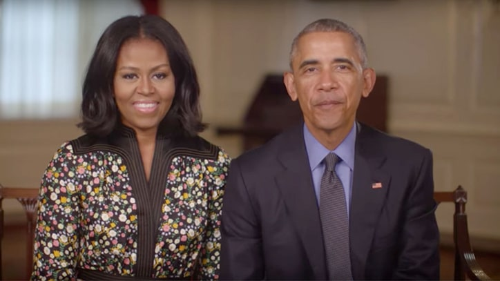 Watch Former President Obama, Michelle Obama Announce New Endeavor