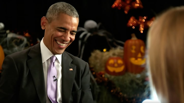 Barack Obama's Spooky Halloween Story: 'Donald Trump Could Be President'
