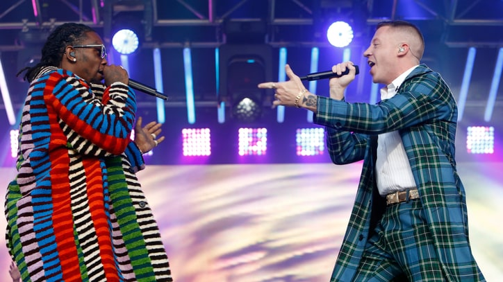 Watch Macklemore, Offset Unleash Luscious 'Willy Wonka' on 'Kimmel'