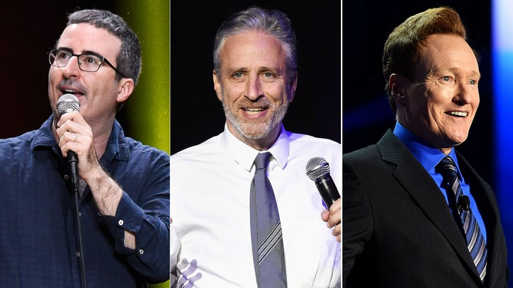 John Oliver, Jon Stewart, Conan O'Brien Lead 2017 Stand Up For Heroes