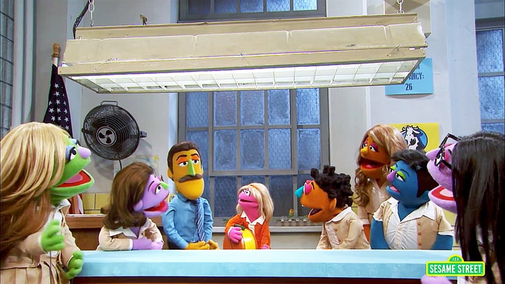 'Sesame Street' Parodies 'Orange Is the New Black' With 'Orange Is the New Snack'