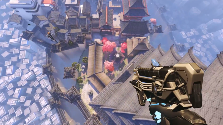 See 'Overwatch' Maps as Never Before Thanks to Sombra Teleport Glitch