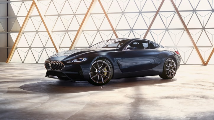Sneak Peek: An Exclusive Look at BMW's Sleek, Sexy Concept 8 Series