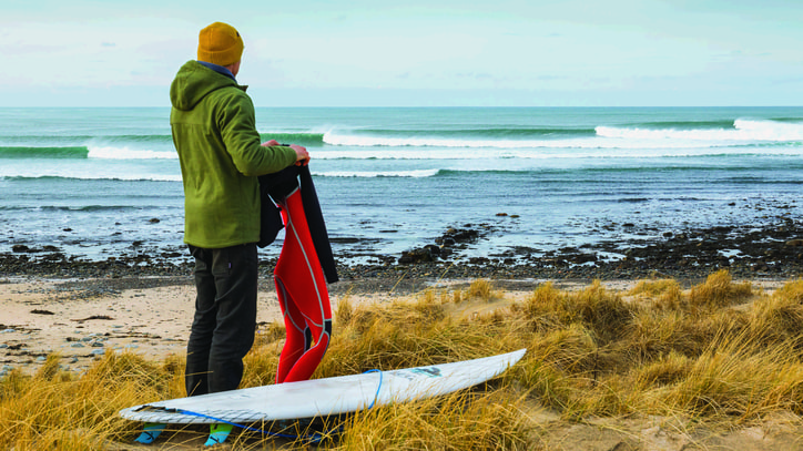 Score One for the Environment: Patagonia Launches a Plant-Based Wetsuit