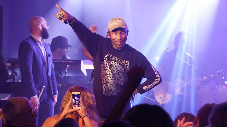 Hear Pharrell's Funky New Song 'Crave'