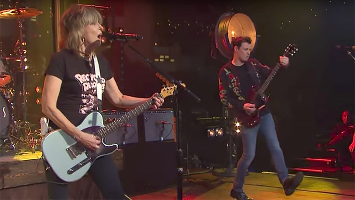 Watch the Pretenders Perform 'Talk of the Town' on 'Austin City Limits'