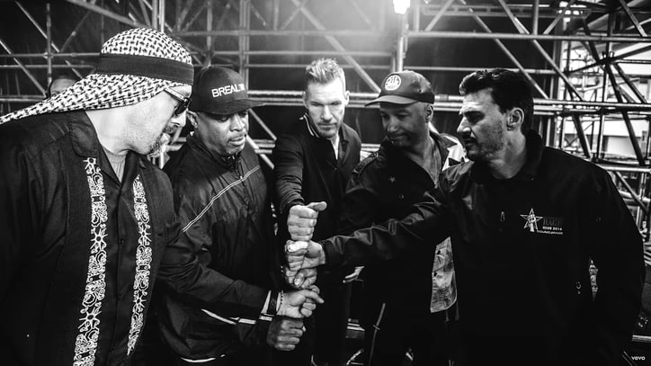 Prophets of Rage's 'Hands Up' Video Showcases Band's Explosive Live Shows