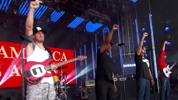 Watch Prophets of Rage Incite Mosh Pit on 'Kimmel'