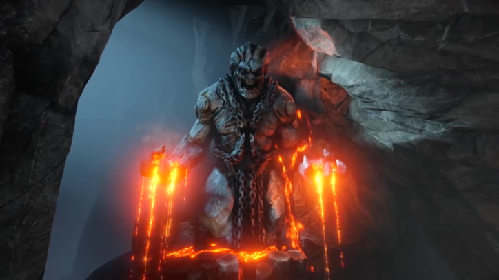 Check Out The Molten Hot 'Quake Champions' Burial Arena