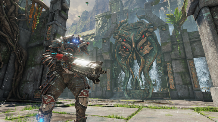 'Quake Champions' Inhabits a Happy Place Between 'Overwatch' and Classic Shooters