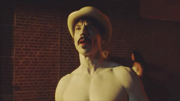 Watch Red Hot Chili Peppers' Surreal Disco Epic 'Go Robot'