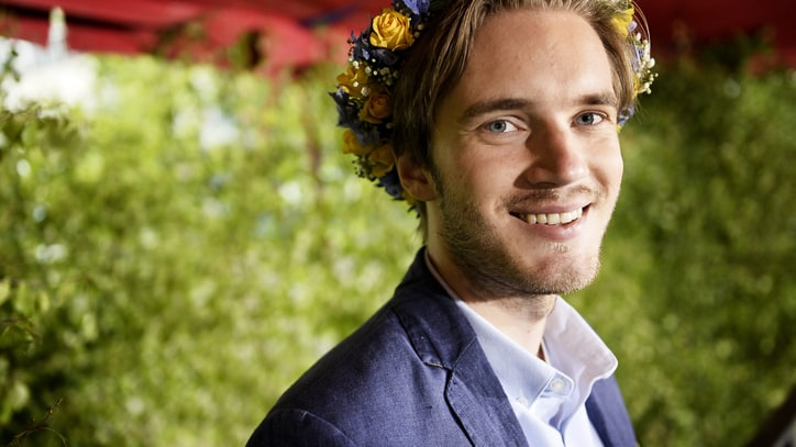 YouTube Star PewDiePie Dropped by Disney Following Anti-Semitic Posts