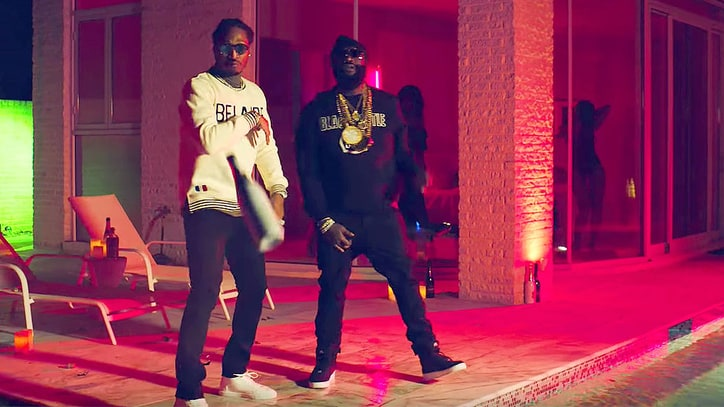 Watch Future, Rick Ross Pop Champagne in 'That's a Check' Video