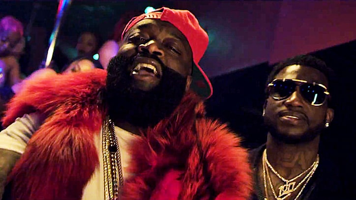 Watch Rick Ross, Gucci Mane Crash Strip Club in 'She on My Dick' Video