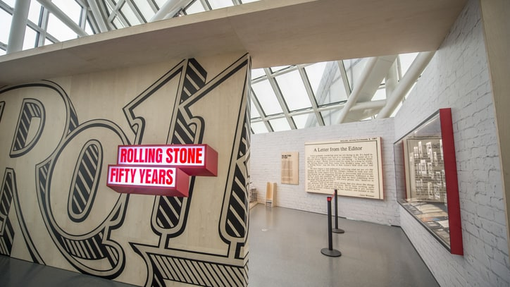 10 Must-See Items Inside Rolling Stone's 50th Anniversary Exhibition