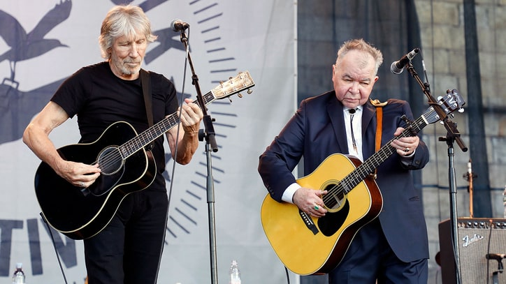 Watch Roger Waters, John Prine Unite at Newport Folk Festival