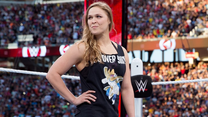 Ronda Rousey Releases WWE Promo Tape, Challenges Ric Flair's Daughter