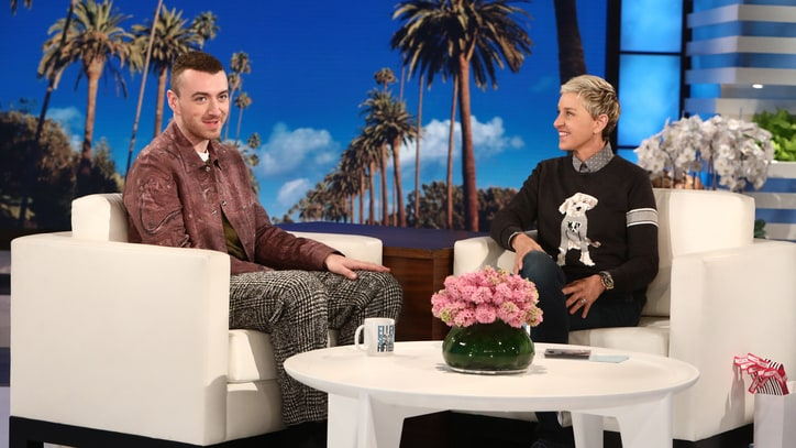 Watch Sam Smith Talk Tequila-Fueled Oscars Flub on 'Ellen'
