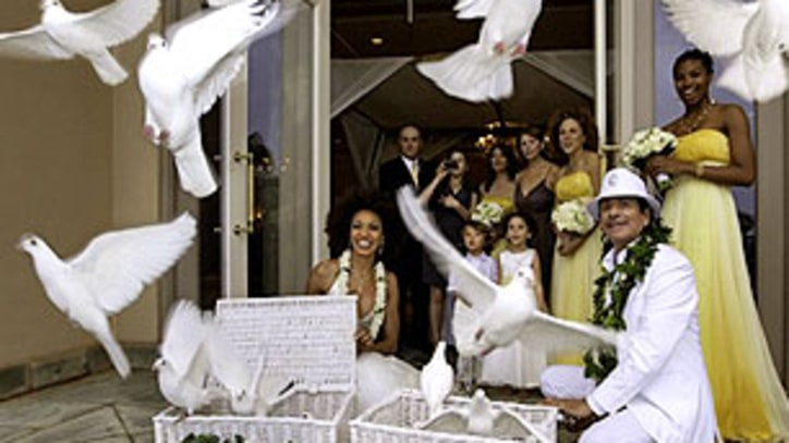 Carlos Santana Weds in Hawaii