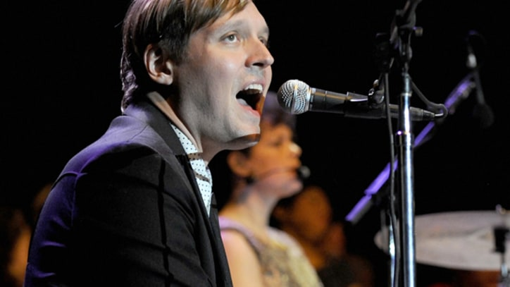 Arcade Fire Recording at James Murphy's New York Studio