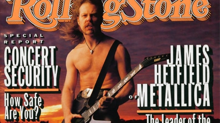 Don't Tread On Me: Metallica's James Hetfield