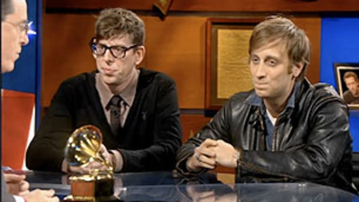 Video: Vampire Weekend and Black Keys Fight It Out on 'Colbert Report'